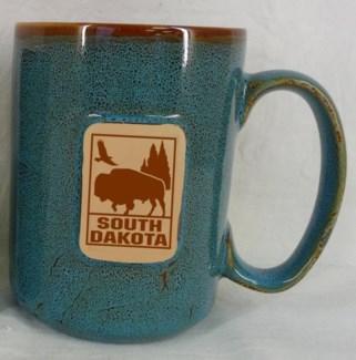 SD 14oz. Stoneware Mug Blue