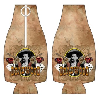 Deadwood Bottle Cooler with Bottle Opener