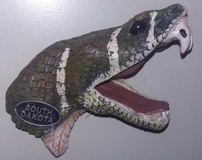 South Dakota Rattlesnake Magnet