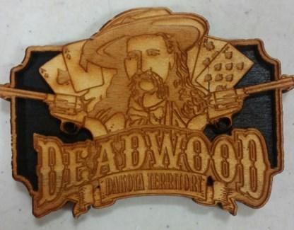DW laser engraved magnet