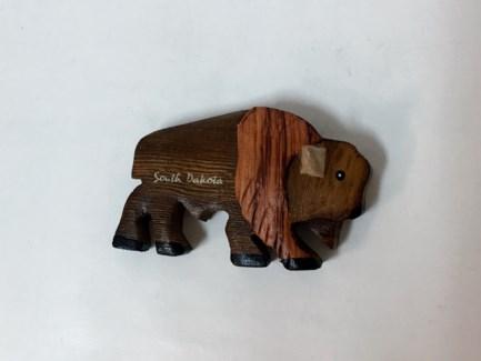 SD Wood Buffalo Magnet