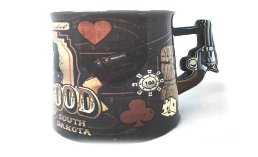 15 oz. DW mug with pistol handle