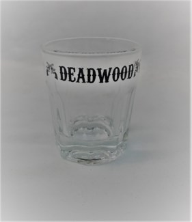 Small Deadwood Whiskey Shot Glass