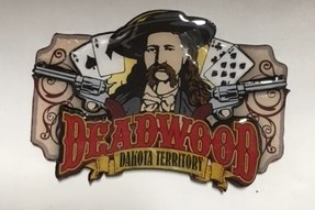 Two Layer Historic Deadwood Magnet