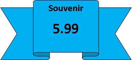 souvenirs 5.99