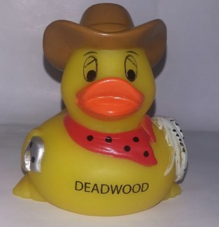 Deadwood Cowboy Rubber Duck