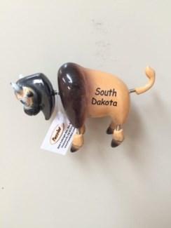 SD Bobble Magnet-Buffalo