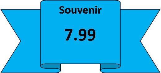 souvenirs 7.99