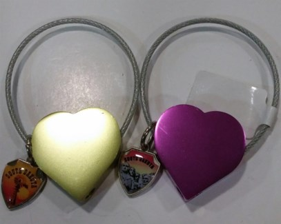 SD Keychain Heart Cable**Discontinued**