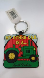 SD Keychain Tractor