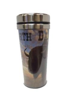 ND Buffalo Travel Mug