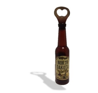 ND Lg. Beer bottle Shape-Bottle opener Magnet