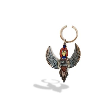 ND Pheasant moving parts Key chain