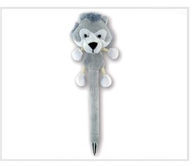 ND Plush Pen Wolf