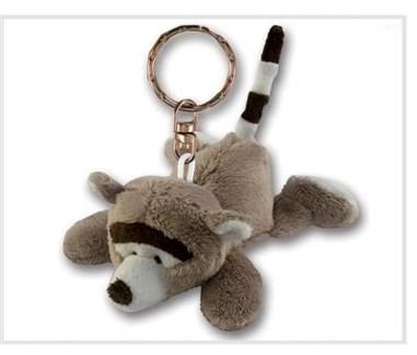 ND Plush Keychain Raccoon