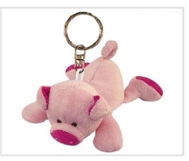 ND Plush Keychain Pig