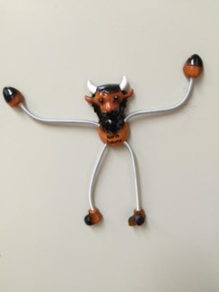 ND Springy Magnet Buffalo
