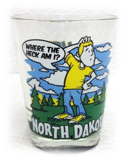 Lost in ND shot glass