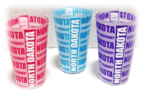 ND Frosted shot glass