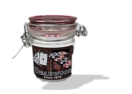 Mini Storage Jar with Color Lid