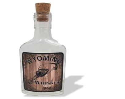 Whiskey Bottle w/cork 4 oz.