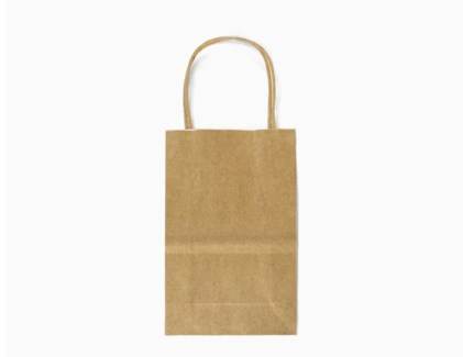 LG Brown Kraft Bag with Band