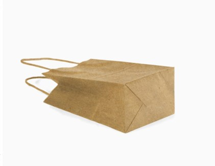 SM Brown Kraft Bag with Band