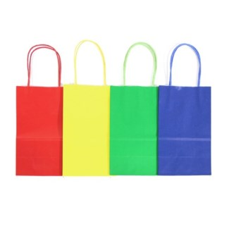LG Primary Colored Kraft Bag