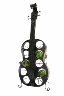 Large Guitar Bottle Holder 41X15X9
