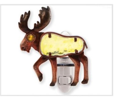 Night Light Moose