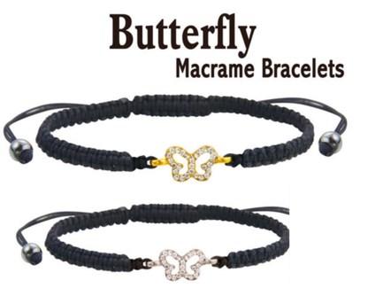 Butterfly Macrame Bracelet 24/Dsp