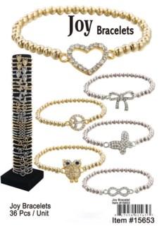 Joy Macrame Bracelet 24/Dsp **Discontinued**