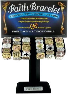 Faith is Forever Tile Bracelet 6/Dsp