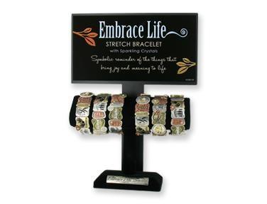 display for Embrace Life Bracelet
