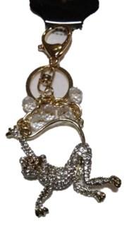 Gold Monkey Keychain