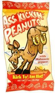 Ass kickin Peanuts 1 oz