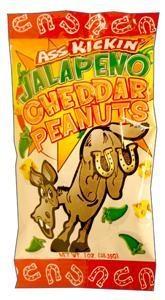 AK Jalapeno/Cheddar Peanuts 1 oz.