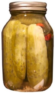 Dilled Pickles 32 oz