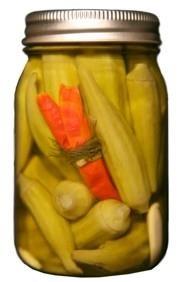 Pickled Okra 16 oz