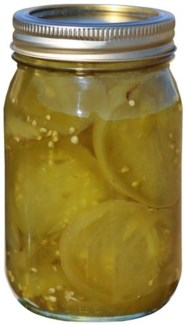 Candied Green Tomatoes 16 oz