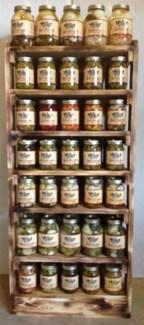 7 Layer Wood Shelf