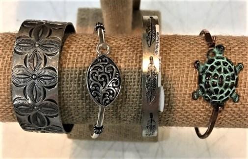 Metal NY Bracelets Asst.