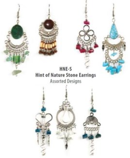 Hint of Nature Stone earrings