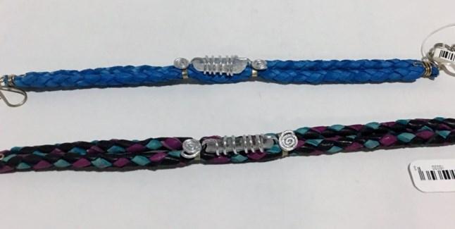Leather Crystal Bracelets