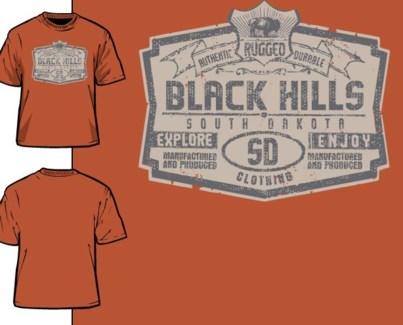 Black Hills Tee- Tough Orange -S