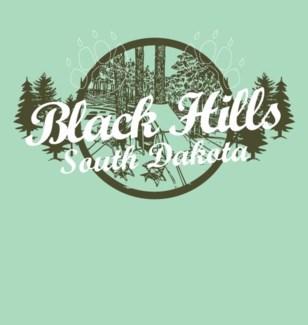 Black Hills Tee- Timberland Mint Green- S