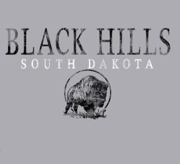 Black Hills Tee- BH SD Grey - S