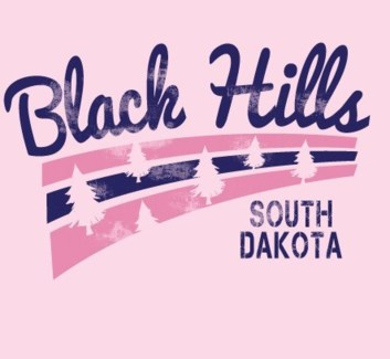 Black Hills Tee- Sweetness Pink- S