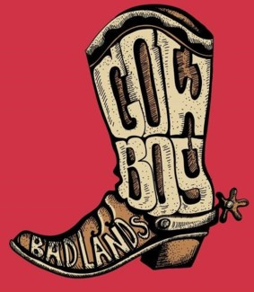 BL Youth Boot Text- Red XS