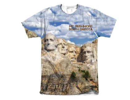 Mt. Rushmore Sublimated Tee - L
